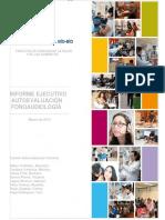 Informe Ejecutivo. Autoevaluación Fonoaudiología UBB