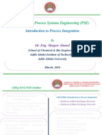 Process Systems Engineering-Chapter 3-Introduction to Process Integration