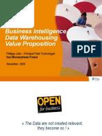 Business Intelligence Infrastructrure (Sun Microsystem)