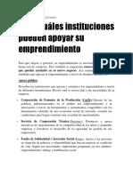 Financiamiento a Públicas y Privadas