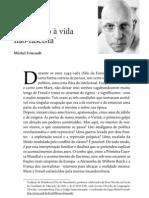 Foucault, Michel. Introdução à vida não-fascista