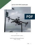 UserManualforDJIF450Quadcopter Final