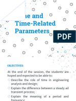 Time and Time-Related Parameter