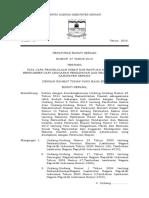 Bd Perbup No. 27 Tahun 2016 Hibah Bansos