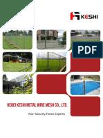 Temporary Fencing Catalog