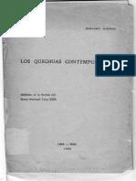 Mishkin, Bernard -  Los Quechuas Contempor+íneos