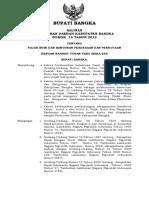 Perda Kab Bangka Tentang PBB-P2