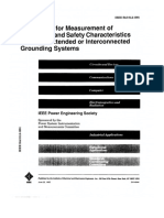 IEEE Std 81.2-1991 Guide for Measurement of Impedance and Safety Characteristics of Large, Extended or Interconnected Grounding Systems.pdf