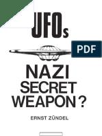 UFOs Nazi Secret Weapon