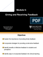 5Giving Receiving Feedback