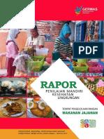 Buku Raport - Pangan Jajanan 2017