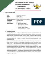 Plan de Sesión Educativa TEJIENDO MIS AVENTURAS