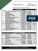 Jadual Pengajian YT 2018 [5 JUN 2018]