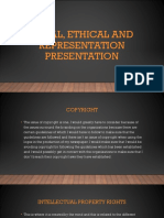 legal ethical and representation presentation