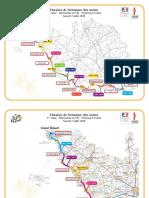 Les conditions de circulation en marge de la 1re étape du Tour de France