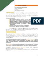 Projectos Educacionais (Resumo)
