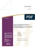 NF P98-623