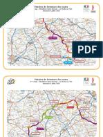Conditions de circulation 2e étape du Tour de France