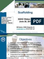 SSHO Module 6_Scaffolding