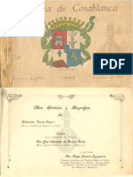 """Chile, """"Historia de Casablanca 1753-1953"""""""