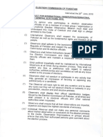 ECP code of conduct for media