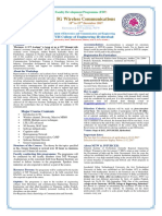 Brochure FDP on 5G Wireless Communications