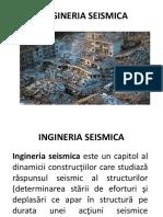 Inginerie seismica