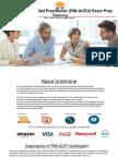 PMI Agile Certified Practitioner(PMI-ACP) Prep Training