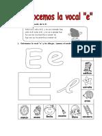 Ficha de la E