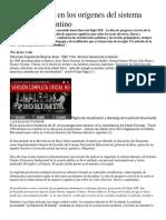 El Positivismo en Los Orígenes Del Sistema Educativo Argentino