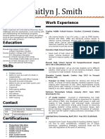 kaitlyn smith resume