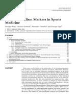 BoneMetabol Markers in Sport 2010
