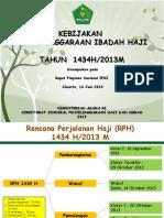 130826 Materi Rapimnas Kebijakan Penyelenggaraan Ibadah Haji Pak Ses 16 Juni 2013 2