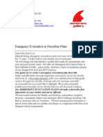 Emergency Evacuation & Procedure Plans