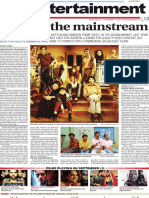 Beyond the Mainstream - Article in 'The Patriot'