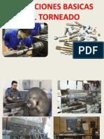 OPERACIONES BASICAS TORNEADO