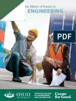 OU MSCE Brochure