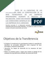Plan de Transferencia Innovador