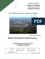 Modelo Hidrodinamico Del Rio Paraguay