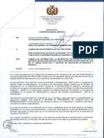 Carta de La Licenciada It de Profocom No. 0084 2015