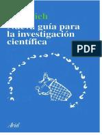 Guía Para Investigación Científica