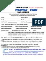 Clark Summer Smackdown Registration