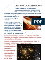 TRABAJO DEL BIG BANG LAURA BERNAL 6º B