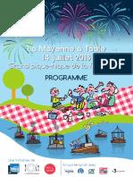 La Mayenne à Table 2018 - Le Programme