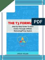 The t3 Formula