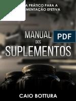 Manual Dos Suplementos - Amostra