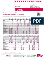 Tours-Nevers mercredi 27 juin