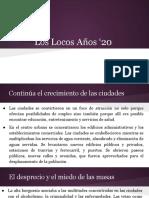 Los Locos Años '20