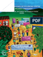 Caracterizaciones de Violencias Contra Las Mujeres Campesinas