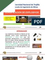 Exp. Clasificaion de Explosivos